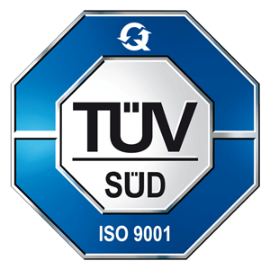 TÜV ISO9001 Certification